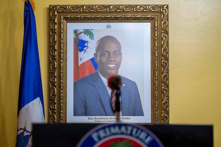 The killing of Haitian President Jovenel Moise has thrown the country into further political instability [File: Ricardo Arduengo/Reuters]