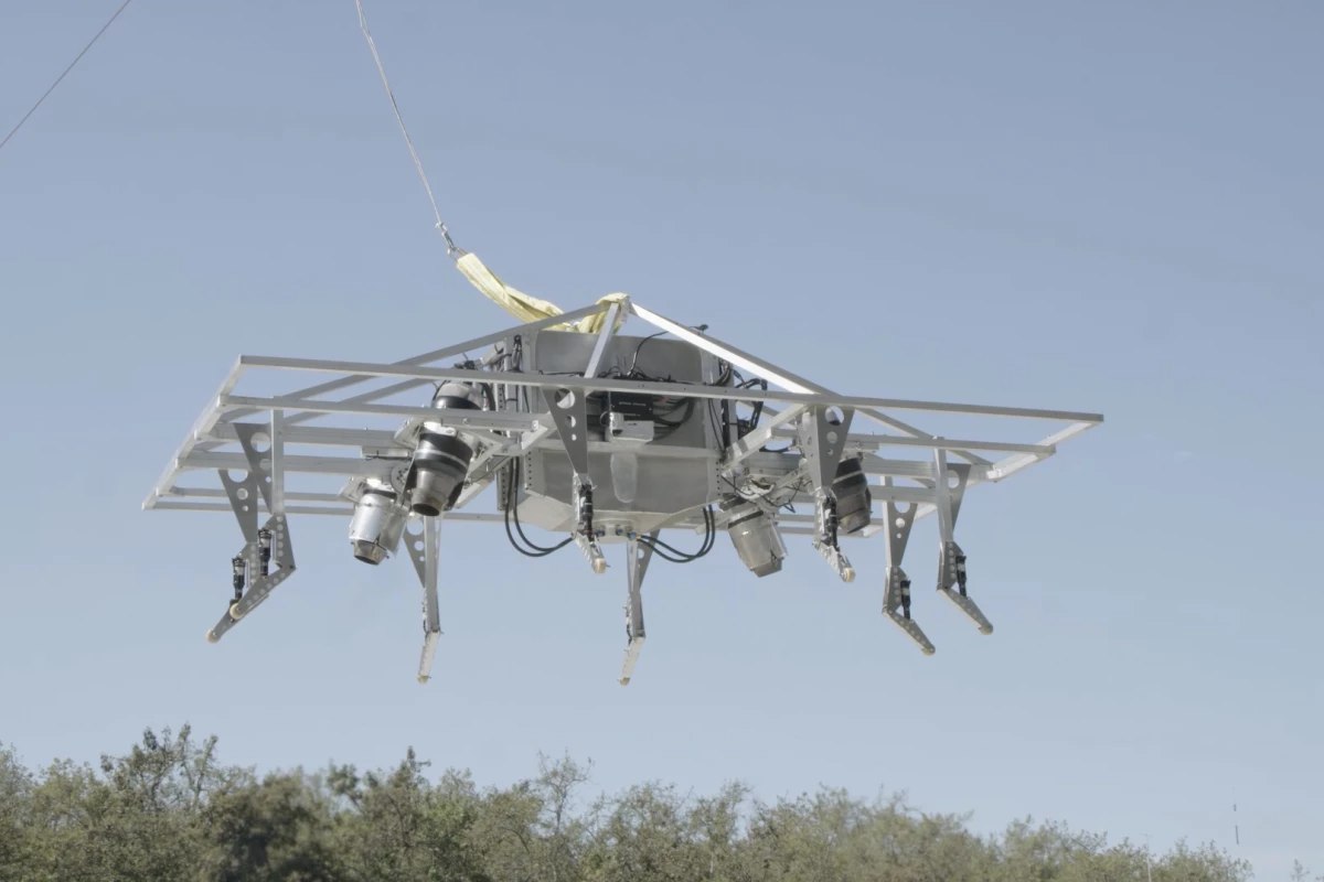 Jetpack Aviation: Flying Motorcycle Prototype Completes First Flight Test