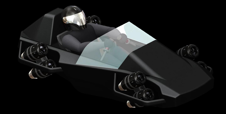 Eight-engine flying go-karts would run on the same platformJetPack Aviation