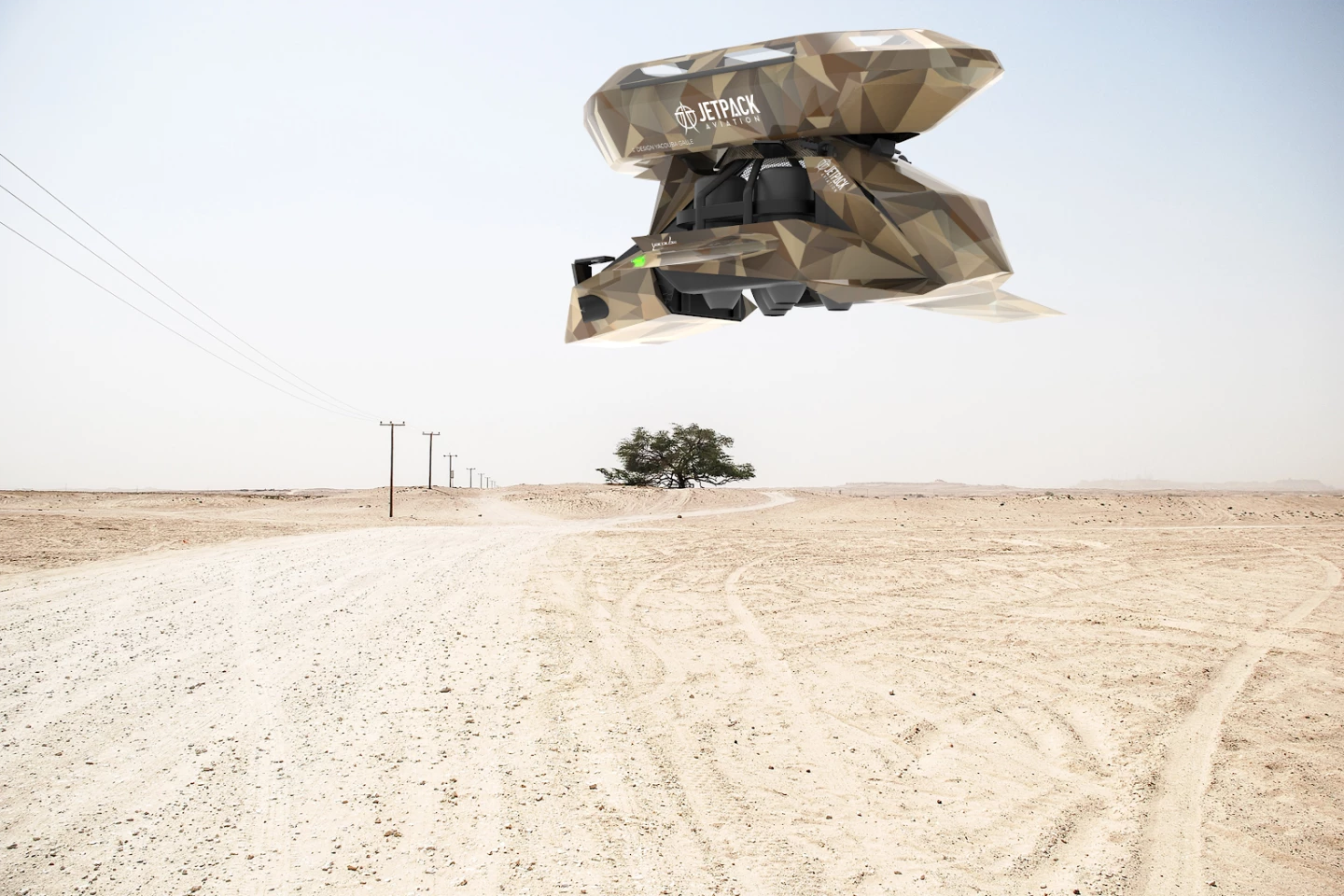 Attachable litters could make the Speeder a genuine asset for medevac missionsJetpack Aviation