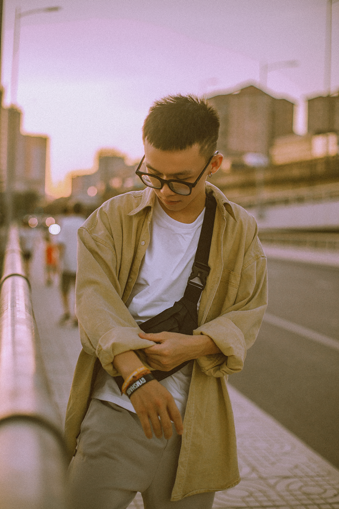 Tran Van Tra, 22 years old. Photo: NVCC