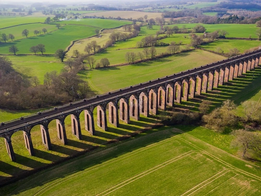 Ouse Valley Viaduct: The Aesthetically Beautiful Spot Nestled in The Serene West Sussex Hills