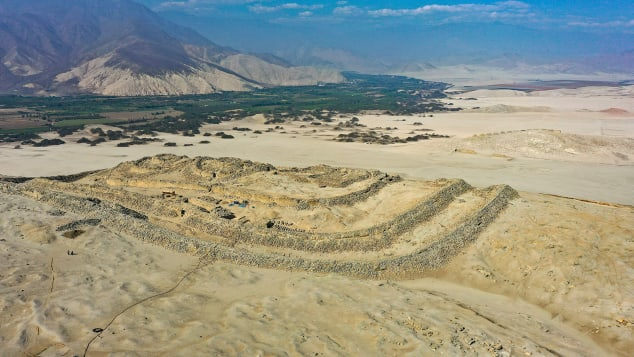 Peru's Chankillo Archaeoastronomical Complex is now a World Heritage site. Janine Costa/AFP/Getty Images