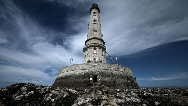 The Cordouan lighthouse in Le Verdon-sur-Mer, southwestern France is also newly inscribed on UNESCO's list. Philippe Lopez/AFP/Getty Images