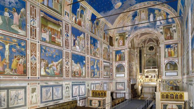 Padua's fourteenth-century fresco cycles, Italy: This site comprises eight buildings, including Scrovegni Chapel, pictured, home to stunning frescoes. Comune di Padova Settore Cultura, Turismo, Musei e Biblioteche/UNESCO