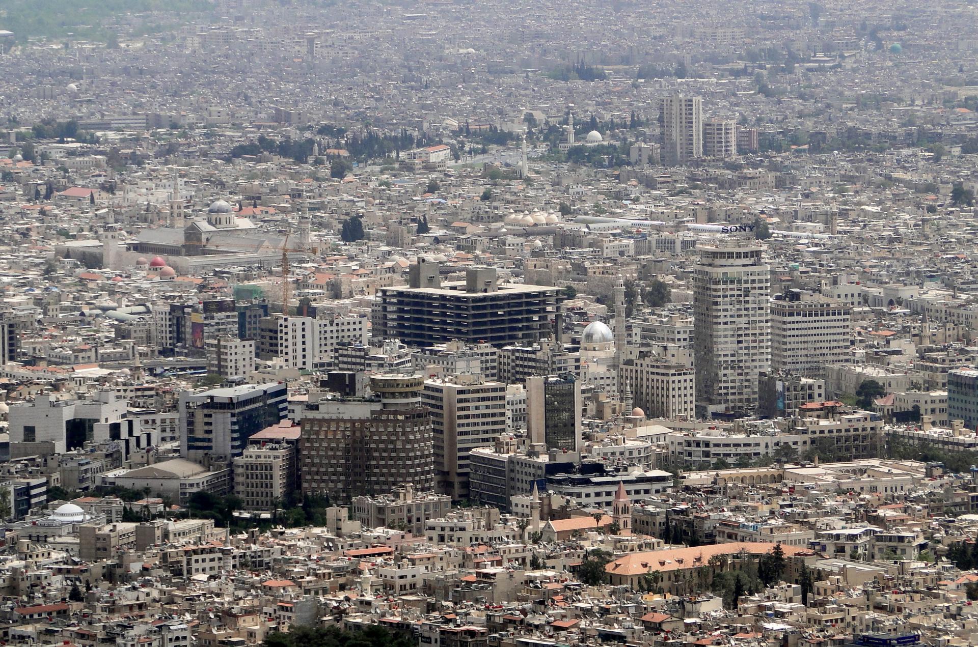 A typical modern-day neighborhood in Damascus, Credit: Bernard Gagnon / CC BY-SA 3.0