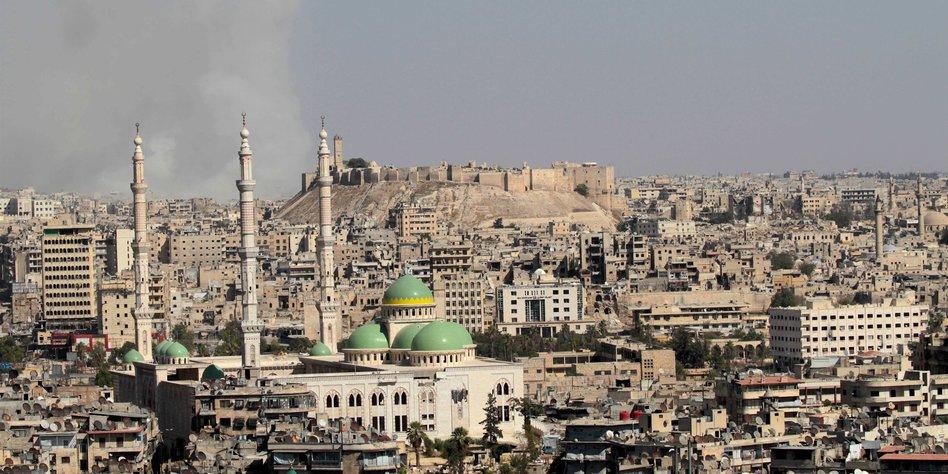 Downtown area of Aleppo in 2016, Credit: imago / Xinhua