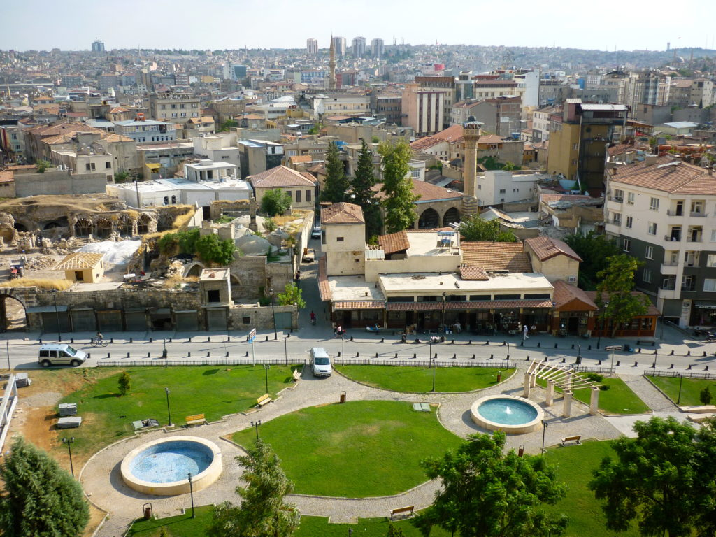 View over Gaziantep, Credit: Christopher Phillips