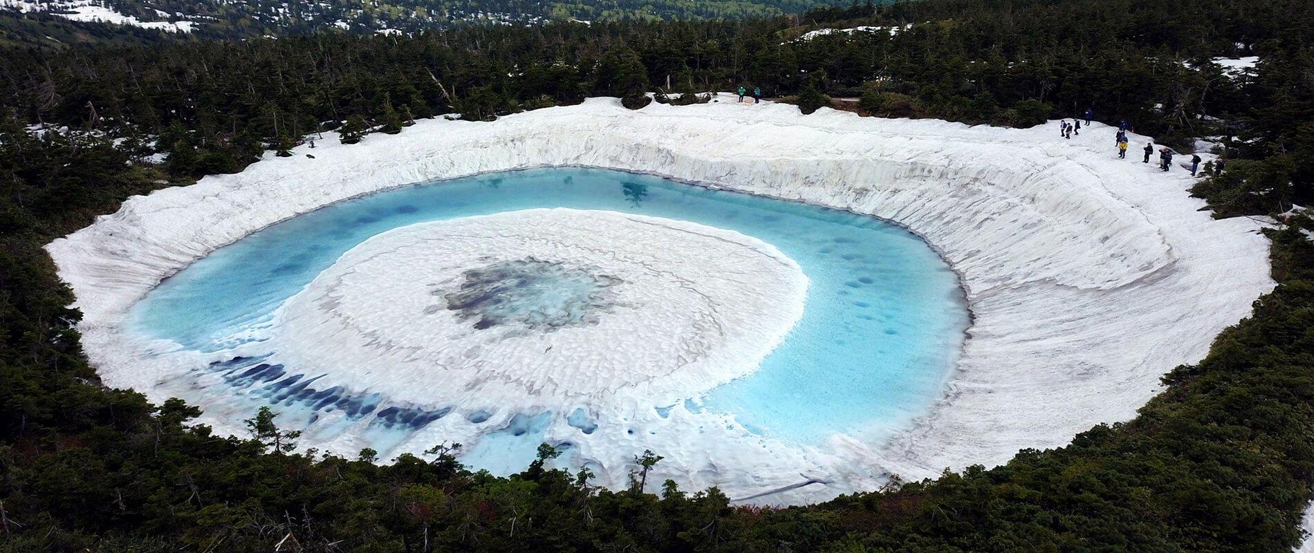 Mysterious Kagami Numa Lake Known as a