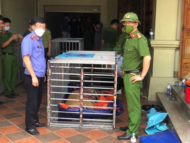 Police are investigating more into the case. Photo: Nghe An Police Department