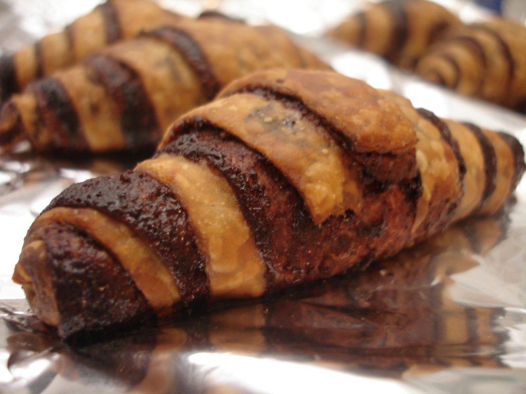 Modern-day chocolate rugelach. Photo: Smithsonian magazine