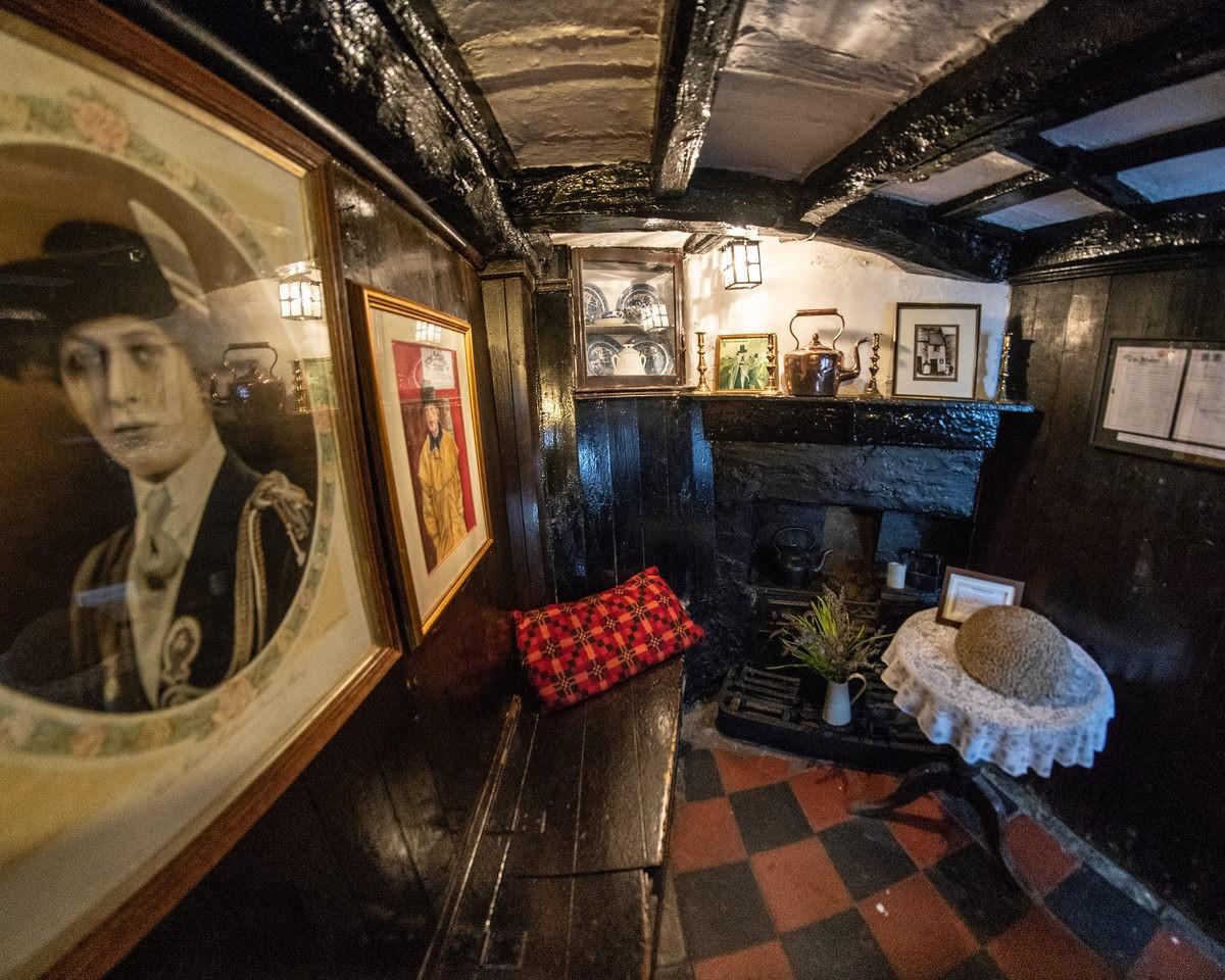 Ground floor living room. Photo: Unusual Places