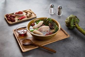 Artichoke Stewed Pork Soup - A Lovely Specialty From Dalat
