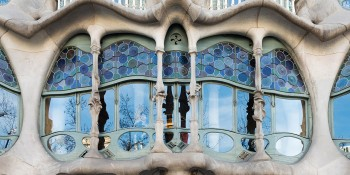 Visit the Hundreds Year Old Building in Barcelona with Unique Design