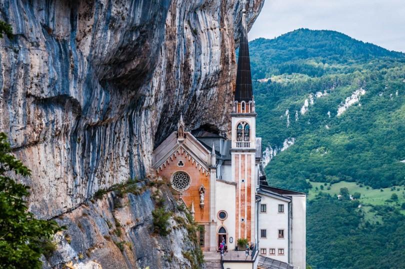 Santuario Madonna della Corona: A Dangerous and Irresistible Secluded Paradise