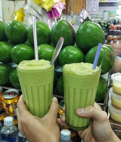Avocado & Custard apple Smoothie - Photo: @cookat_vietnam