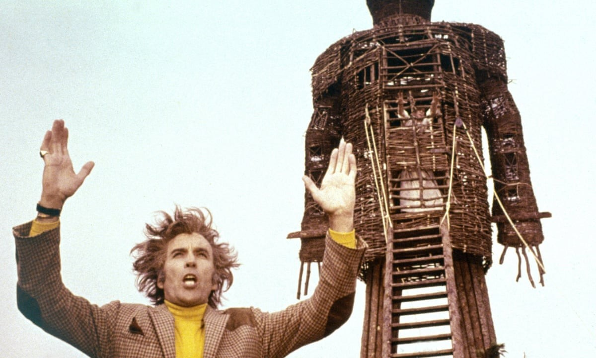 Christopher Lee in The Wicker Man, 1973. Photograph: Allstar/British Lion/StudioCanal