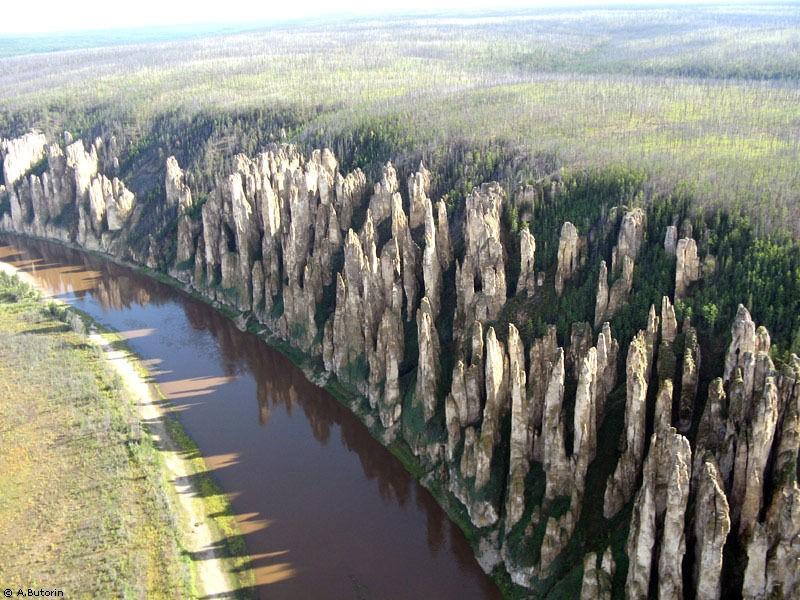 Lena Stone Pillars – The Extraodrinary 500-Year-Old Forest In Russia