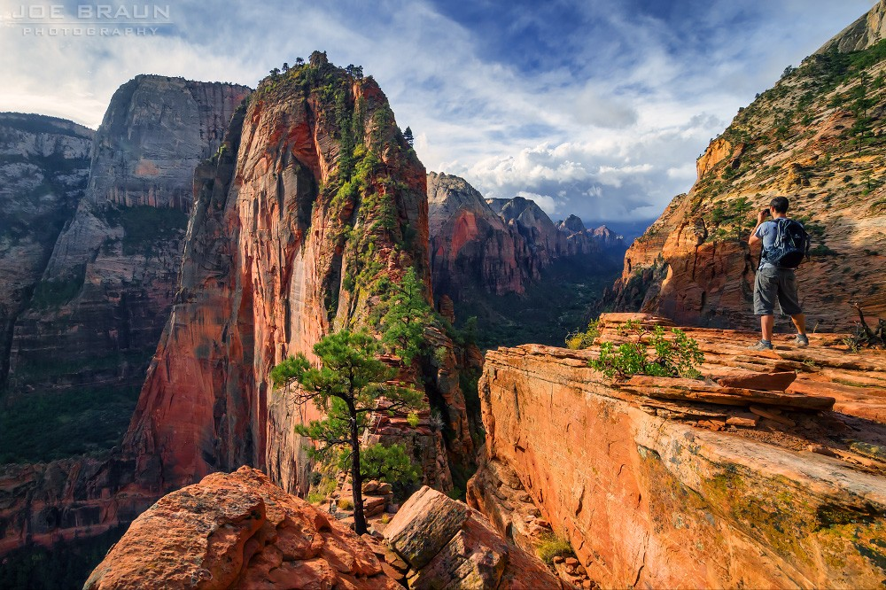 Angel's Landing – The Rocky Hide Challenges The Bravest Hearts