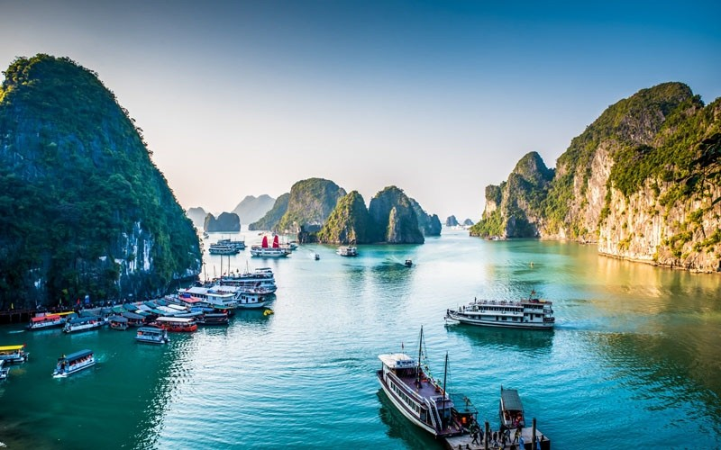 Halong Bay is among the destinations loved by international tourists (Photo: CNTraveler)