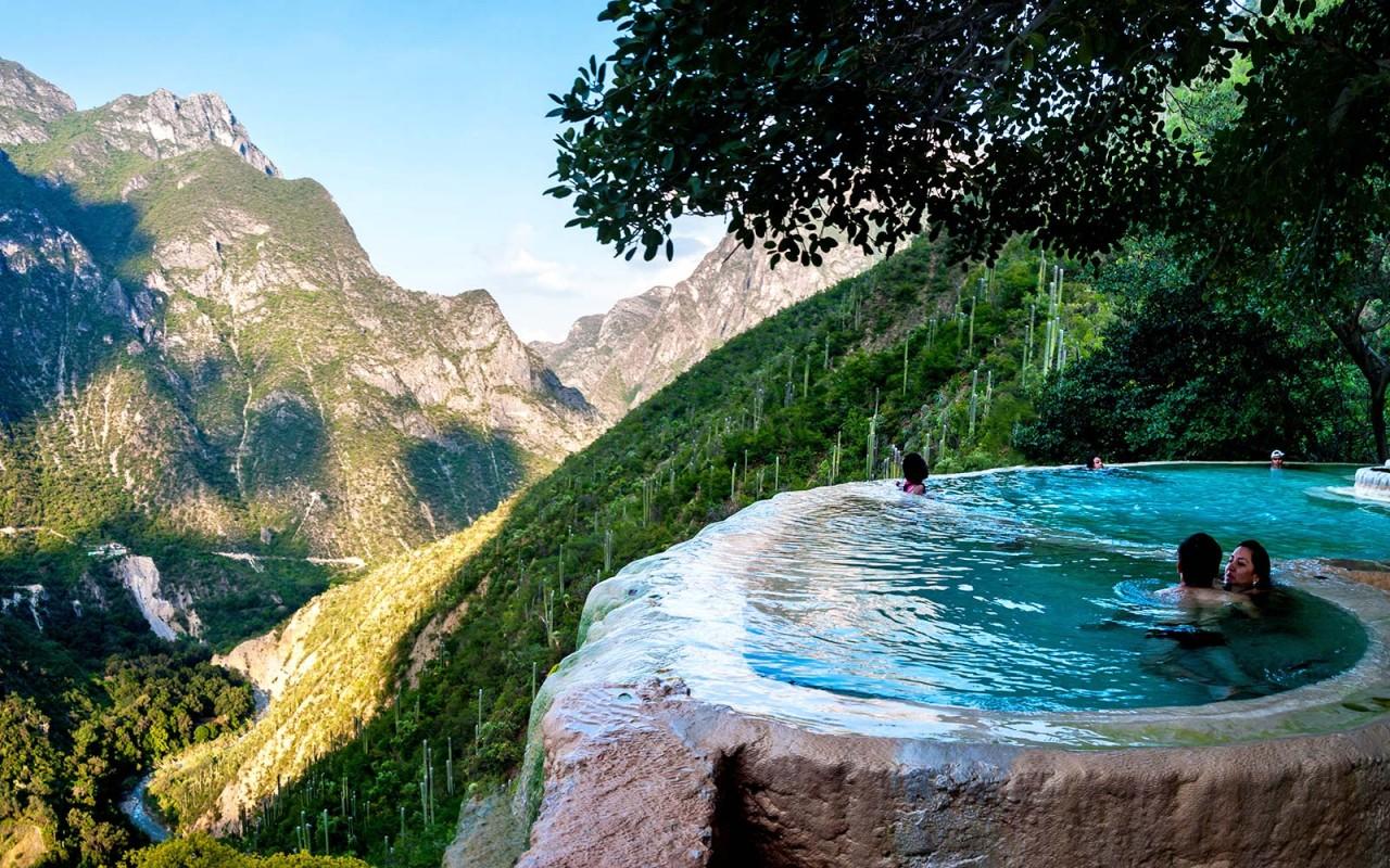 Holiday Relaxation: Visit Las Grutas Tolantongo Mexico Hot Springs