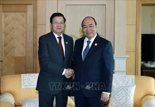 vietnam laos great friendship further developed
