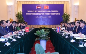 Joint working group on Vietnam-Cambodia border gates meets