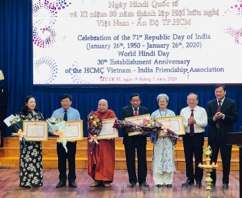 HCM City's Vietnam – India Friendship Association adds two new branches in 2019