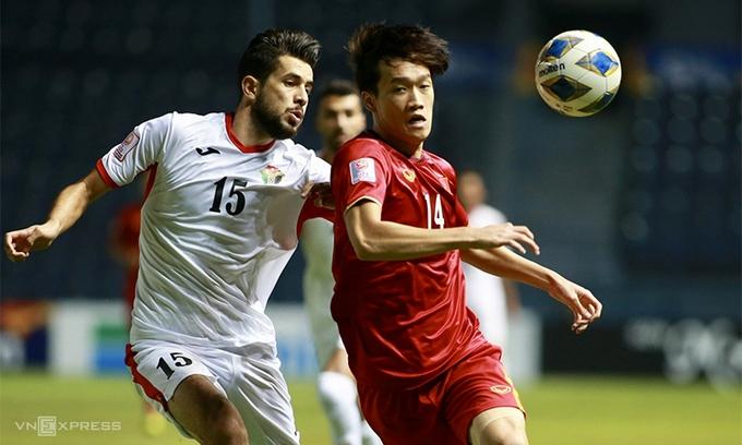 Vietnam U23s salvage 0-0 draw against Jordan