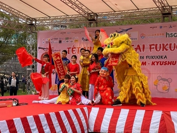 About 7,000 people drawn to Tet Festival 2020 in Japan's Fukuoka prefecture