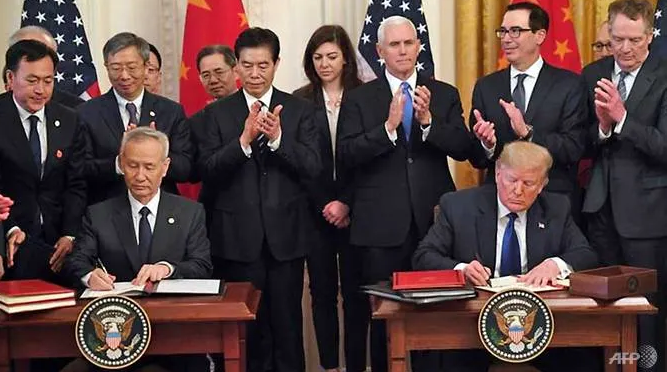 whats in us china phase one trade deal