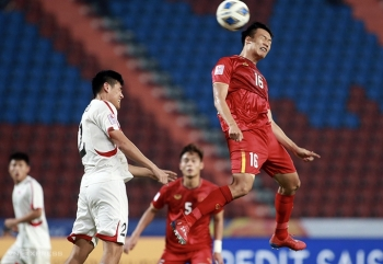 Vietnam crash out of AFC U23 champs after defeat against DPR Korea