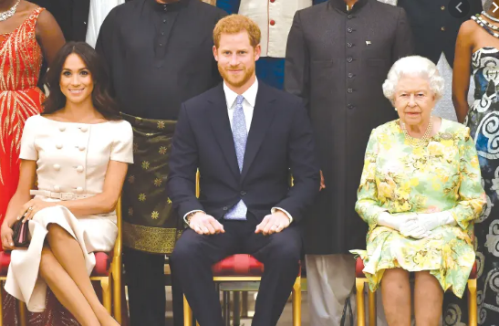 prince harry expresses great sadness about leaving royal duties