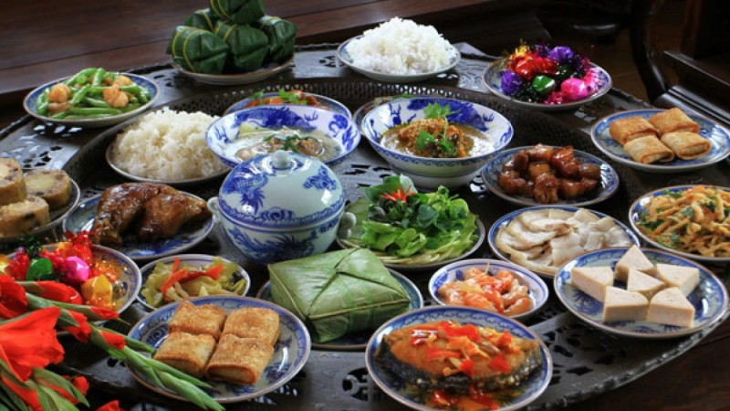 healthy eating tips during lunar new years reunion dinner