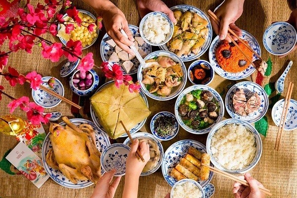 Healthy eating tips during Lunar New Year's reunion dinner