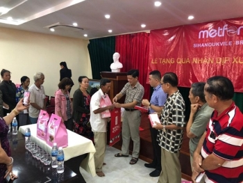 Vietnamese-Cambodians aided to enjoy happy Lunar New Year