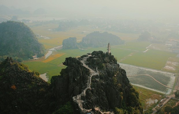 two ninh binhs caves introduced by korean television
