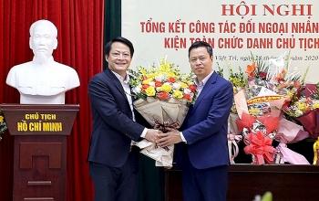 phu tho union of friendship organizations got new president