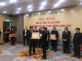 WWF Vietnam honoured for contribution to environment sector