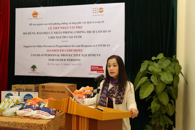 UNFPA supports Vietnam protect older people from COVID-19
