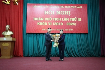 mr nguyen van doanh officially becomes vufos vice chairman