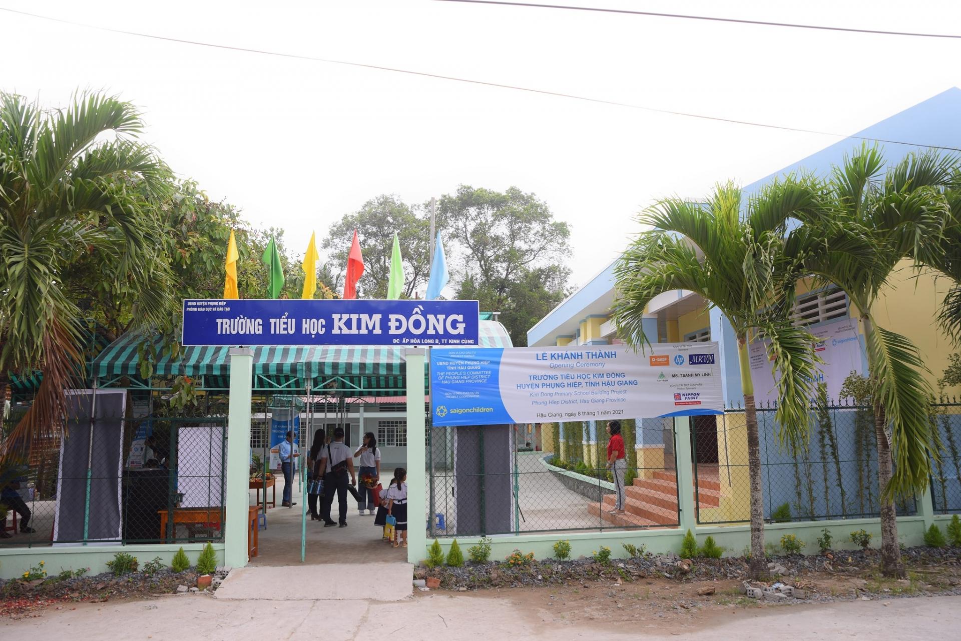 Saigonchildren builds another school in Hau Giang
