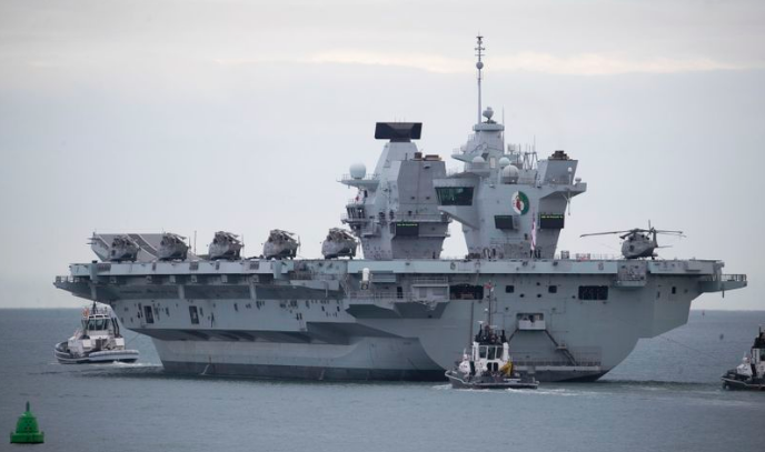 what japan says about uks plan to send aircraft carrier group to asia seas