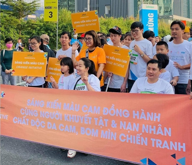 Orange Initiative at Hochiminh city Marathon 2021
