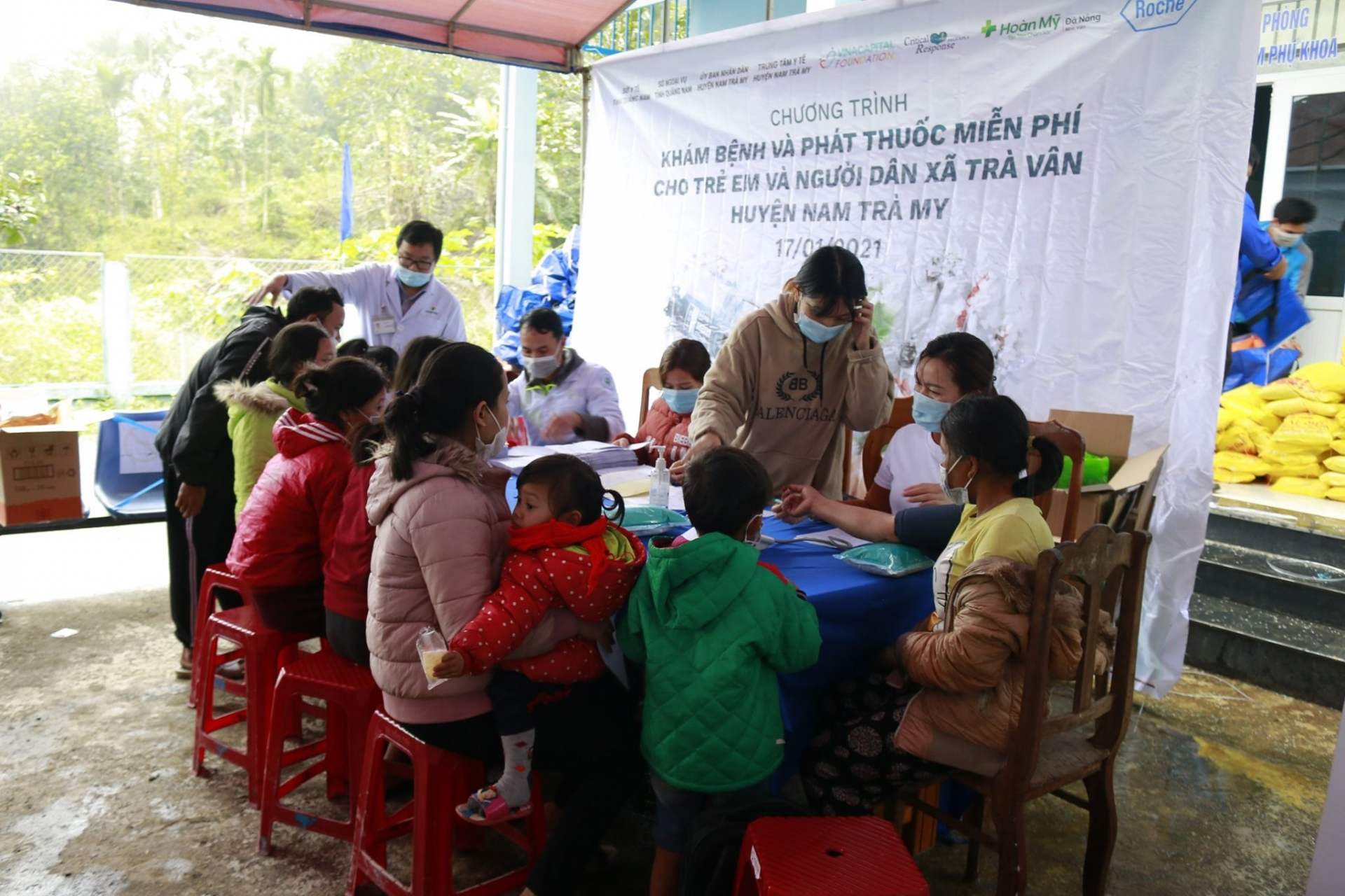 Essuring health care for poor communities heavily affected by natural disasters