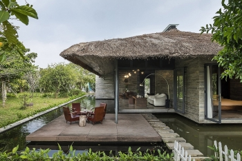 floating villa in southern province named at american architecture awards