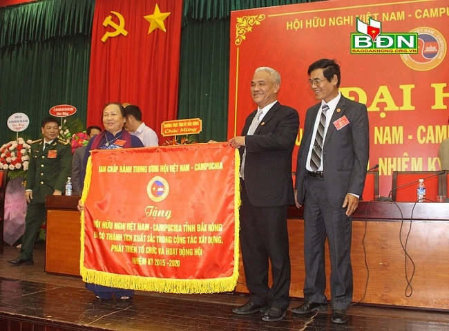 Dak Nong's Vietnam – Cambodia Friendship Association holds third congress