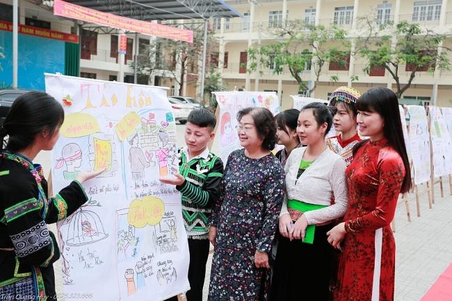 Brighter Path Ethnic Girls' Club pilot a success