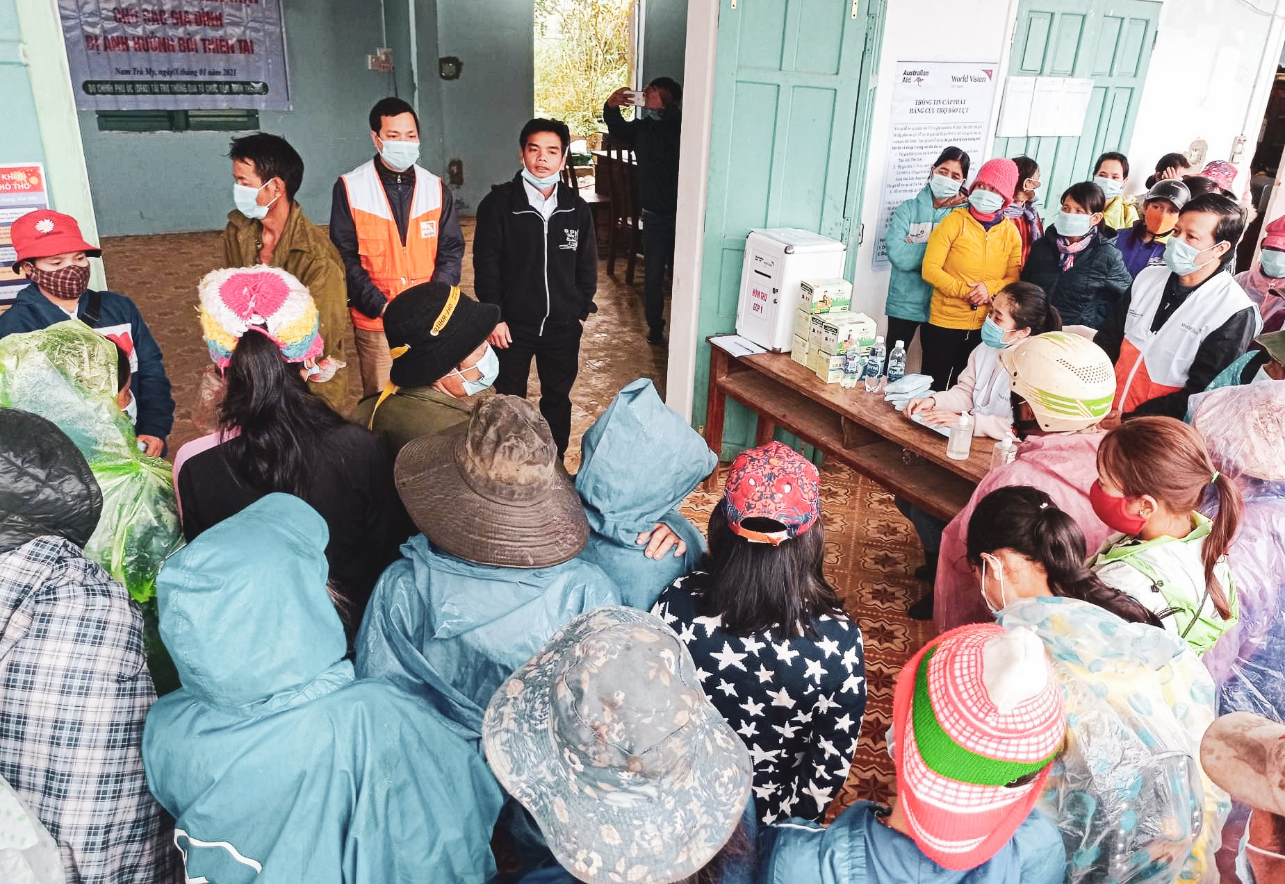 Three NGOs facilitating post flood livelihood recovery to over 25,000 people