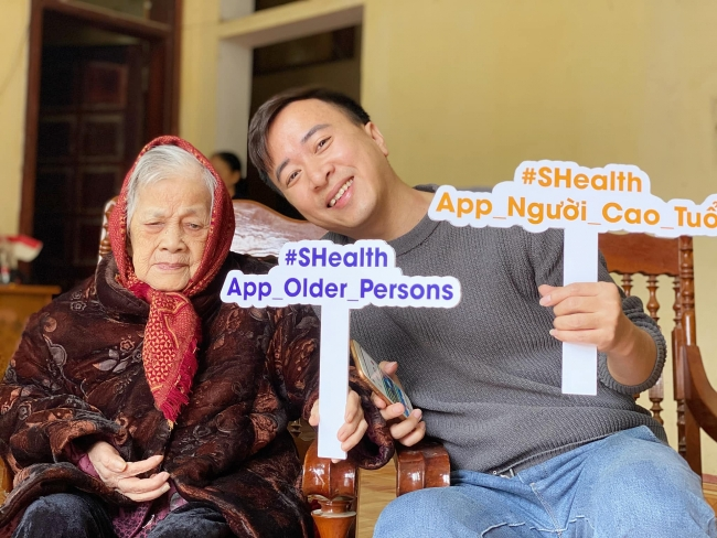 First-ever mobile app to provide health care information and services to the elderly in Vietnam